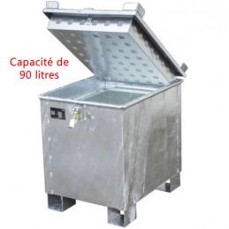 Conteneur de stockage 90 litres pour batteries au lithium-ion