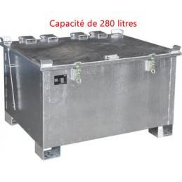 Conteneur de stockage 280 litres pour batteries au lithium-ion