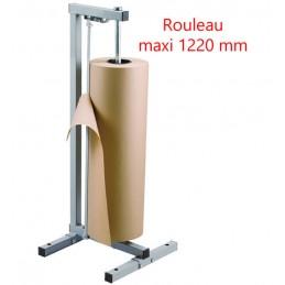 Dérouleur de rouleau papier vertical