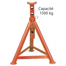 Chandelle de calage 1500 kg