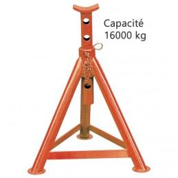 Paire de chandelle de calage 16 000 kg