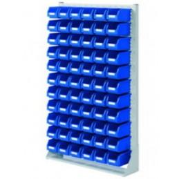 Rack modulaire hauteur 1790 mm avec 66 bacs à bec