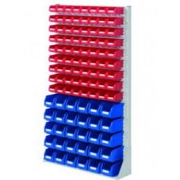Rack modulaire hauteur 1790 mm avec 102 bacs à bec