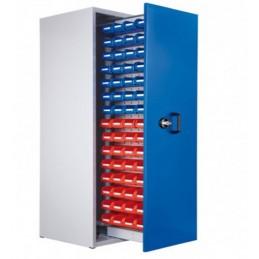 Armoire 60 bacs à 1 compartiment vertical extractible