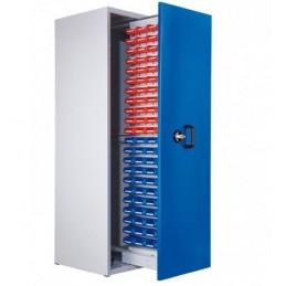 Armoire 88 bacs à 1 compartiment vertical extractible
