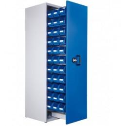 Armoire 33 bacs à 1 compartiment vertical extractible