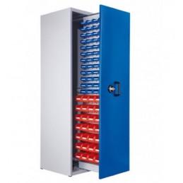 Armoire 76 bacs à 1 compartiment vertical extractible hauteur 2000 mm