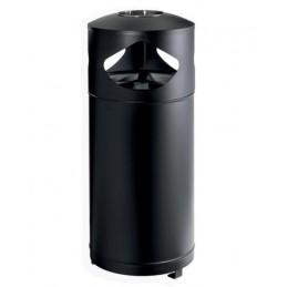 Cendrier poubelle tri sélectif 3 x 35 litres