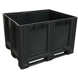 Caisse palette 610 litres 1200x1000 en matière recyclée.