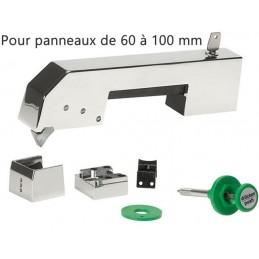 Fermeture jumbo complète pour panneau de 60 à 100 mm