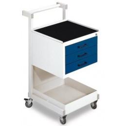 Chariot de montage mobile avec 3 tiroirs