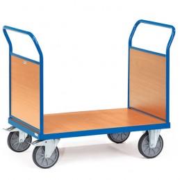 Chariot manuel à 2 ridelles bois