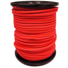 Bobine sandow 6 mm couleur rouge