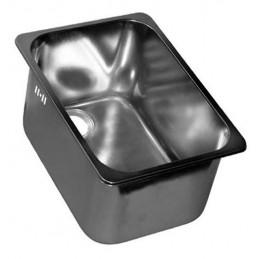 Cuve rectangulaire 13 litres à encastrer avec trop-plein