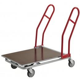 Chariot de transport grand volume idéal magasin bricolage