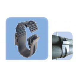 """Collier plastique pour tube 5/8 - 1 1/8"""" - P4 FIXATION M8/M10"""