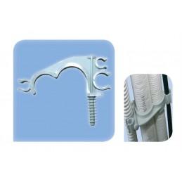Collier plastique pour tube 32 et 25 mm fixation directe