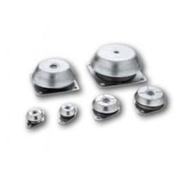 Supports antivibratoires en caoutchouc-métal