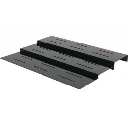 Escalier 3 marches largeur 800 mm pour plats sur buffet