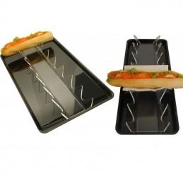 Présentoir pour sandwich à poser en vitrine ou sur le comptoir