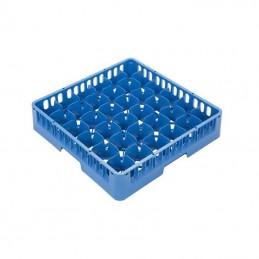 Casier lave-vaisselle pour verres à 36 cases 74 x 74 mm