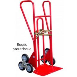 le escalier avec roues caoutchouc capacité 250 kg