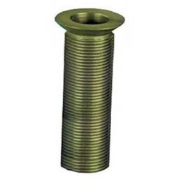 Evacuation d'évier cuivre 1/2 longueur 89 mm