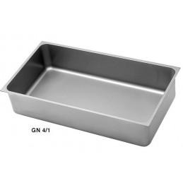 Bac inox GN4/1 bain marie à souder
