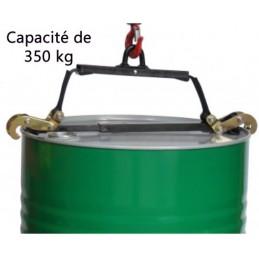 Pince à fûts manuelle 350 kg
