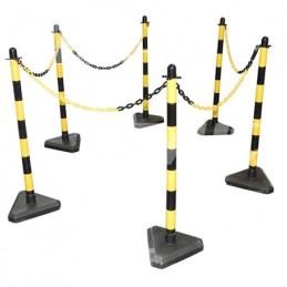 Ensemble de chaîne noir et jaune kit complet