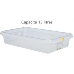 Bac alimentaire 13 litres GN1/1 avec couvercle