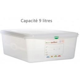 Bac alimentaire 9 litres GN1/3 avec couvercle