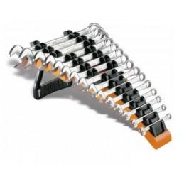 Jeu de 15pcs. clés mixtes 6~24mm avec support Beta 42/SP15