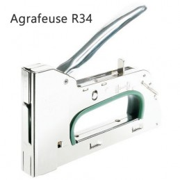 Agrafeuse métal R34 manuelle