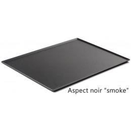 Plat 400 x 300 mm pour présentation de pâtisseries noir