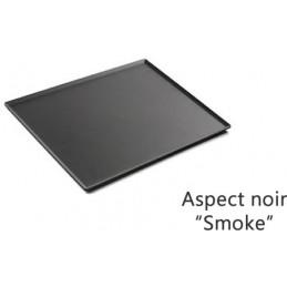 Plat 200 x 200 mm pour présentation de pâtisseries noir