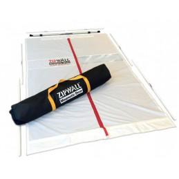 Porte magnétique anti-poussière ZipWall