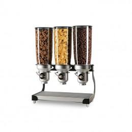 Distributeur de céréales 3 fois 5 litres autonome