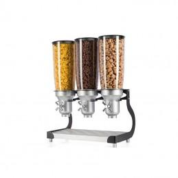 Distributeurs de céréales 3 fois 5 litres à poser