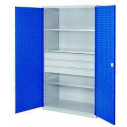 Armoire de grande capacité de stockage avec 3 tiroirs