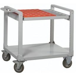 Desserte renforcée 600 kg avec support porte-cônes