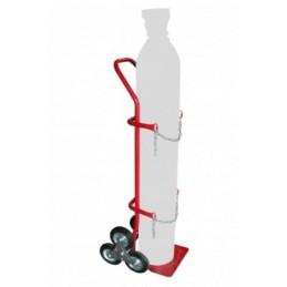 Diable porte bouteille avec roues en étoile capacité 200 kg