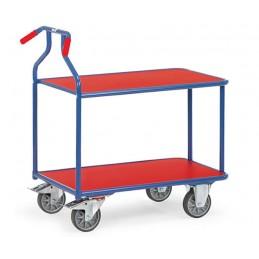 Chariot optiliner 400 kg à deux plateaux