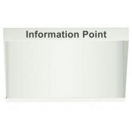 Panneau point d'information