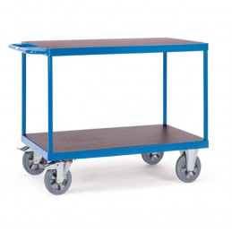 Chariot industrie 1200 kg avec 2 plateaux