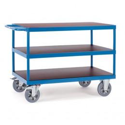 Chariot industrie 1200 kg avec 3 plateaux