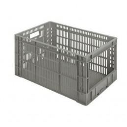Bac perforé 600x400x320 mm pour rangement entrepôt et magasin