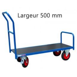 Chariot étroit à dossier fixe 250 kg
