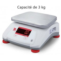 Balance 3 kg inox alimentaire compact
