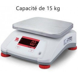 Balance 15 kg inox alimentaire compact